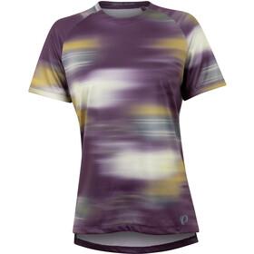 PEARL iZUMi Summit T-shirt Dames, dark violet cirrus